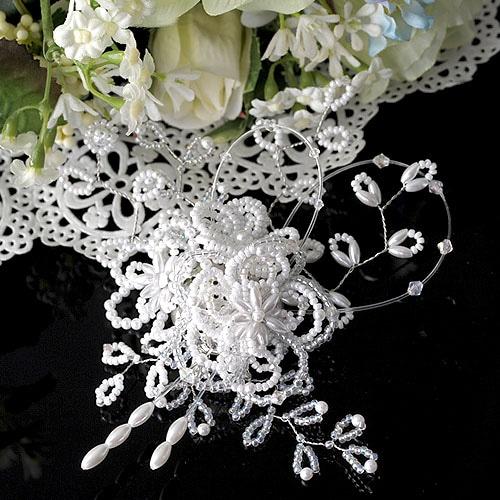 Beads Jewelry Mariage〜マリアージュ〜(2wayヘッドアクセサリー)