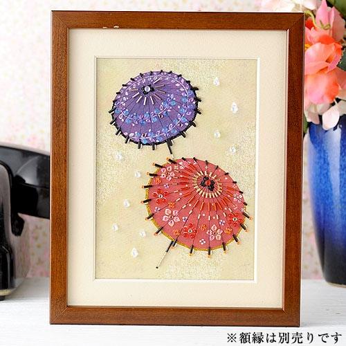 〜Beads Decor〜和傘(水無月・6月) ※額は別売り