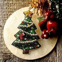 Christmas Tree(ブローチ)