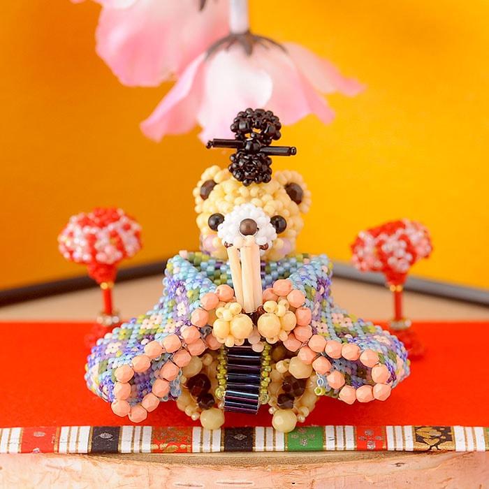 テディベアシリーズ〜ひな祭り・お内裏様〜