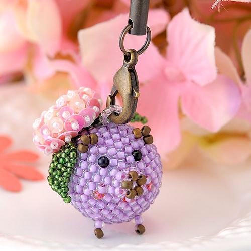 幸せコロブタ・紫陽花(6月)