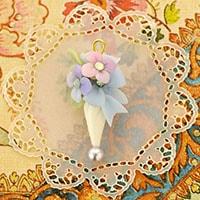 ボンボニエール パラソル 紫陽花
