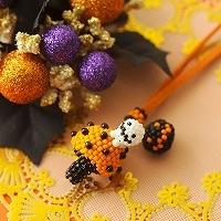 ハロウィン収穫祭〜プチプチきのこ〜オレンジ
