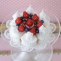 ビーズで編みぐるみ〜ベリーのショートケーキ〜