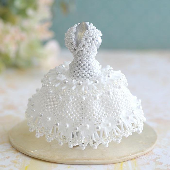 【ミニチュアドレスキット】Claire wedding/クレア ウェディング