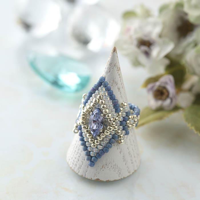 アラミスリング ブルー
