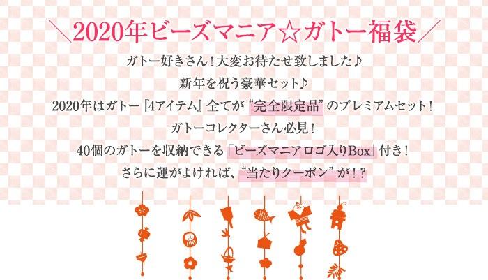 2020年ビーズマニア☆ガトー福袋