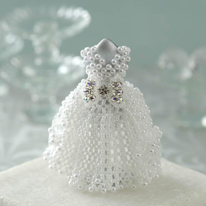 【ミニチュアドレスキット】Anastasia Wedding/アナスタシア ウェディング
