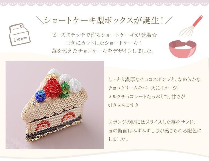 ステッチボックス〜チョコケーキ〜