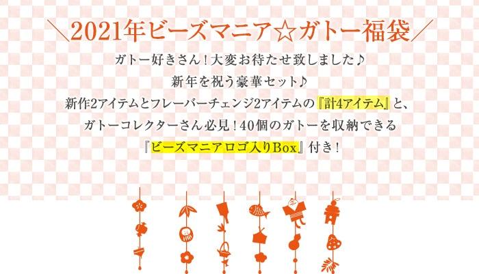 2021年ビーズマニア☆ガトー福袋