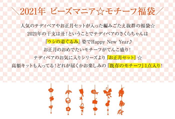 2021年ビーズマニア☆モチーフ福袋