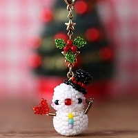 Happy Xmas☆雪だるま