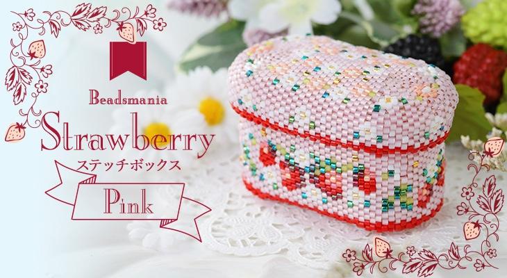 ステッチボックス〜Strawberry・Pink〜