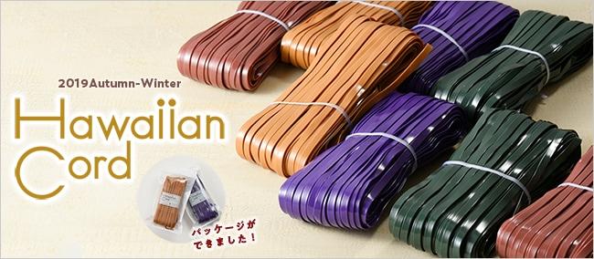 ハワイアンコード2019秋の新色はパッケージ入りで登場!とろける深めカラー4色×レザー調&エナメルです♪