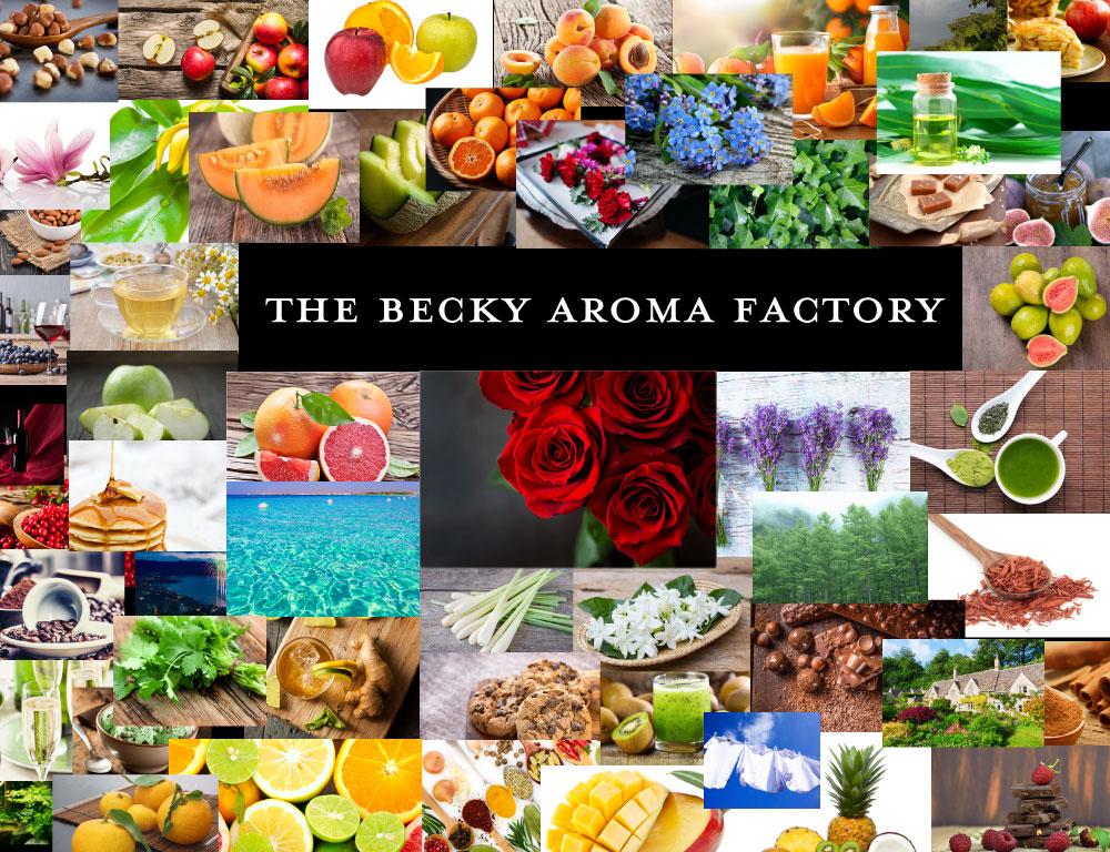 ベッキーアロマファクトリー 自分で香りを創る