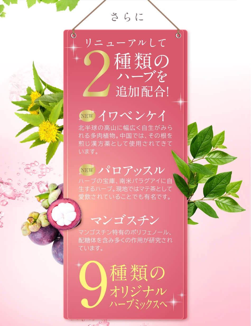 ヴィーナスレシピ AGドリンクプラスの特徴7