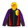 eldoreso packable jacket black purple title=