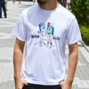 black brick active hiker tee white title=