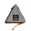 eyl triangle coin purse dyneema xgrid gray title=