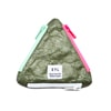 eyl triangle coin purse tybeck gray title=