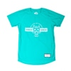 hungerknock originals bb mask tee heather green title=