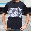MMA Botanical Panel Pocket Tee mono title=