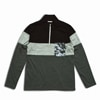 mountain martial arts 3tone mountain wool zip long sleeve black gray title=