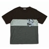 mountain martial arts 3tone mountain wool pocket tee black gray title=