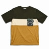 mountain martial arts 3tone mountain wool pocket tee green sand title=