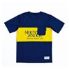 MMA Mountain Martial Arts x Hungerknock Originals Panel Tee navy title=