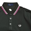 narifuri narifuri FRED PERRY Glows Embroidered Polo black title=