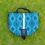 rawlow mountain works tabitibi tote native print eddition turquoise blue title=