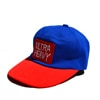 ultra heavy doraneko cap blue red title=