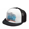 ultra heavy WORKROWN Ultra Heavy Mesh Cap black x white  title=