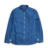 meanswhile Packable Chambray Fishing Shirt indigo title=
