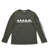 mma mountain martial arts mark long sleeve dark gray title=