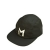 mma mountain martial arts 3layer reflect logo cap black title=
