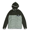 mma mountain martial arts thermolite fleece zip dark gray x gray title=