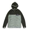 mma mountain martial arts thermolite fleece zip dark gray x gray title=