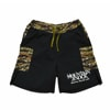 mma mountain martial arts 7pocket run pants hungerknock originals mens black tiger camo title=