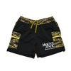 mma mountain martial arts 7pocket run pants hungerknock originals womens black tiger camo title=