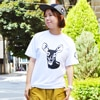 great cossy mountain shika chang gachi tee white title=