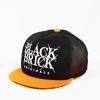 hungerknock originals black brick tuba tan cap ver 2 black x orange title=