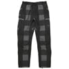 mma mountain martial arts 7pkt running long pants black check title=