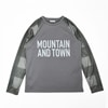 mma mountain martial arts buffalo check long sleeve tee black check title=