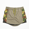 mma moutain martial arts fish tail run skirt olive title=