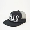 mma mountain martial arts hello mesh cap black title=