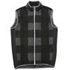 mma mountain martial arts quilting run vest black check title=