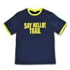 mma mountain martial arts mma say hello trim tee navy title=