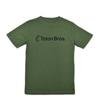 teton bros standard logo tee green white title=